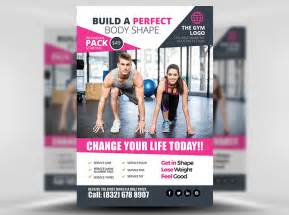 fitness flyer templates flyer template 2 flyerheroes