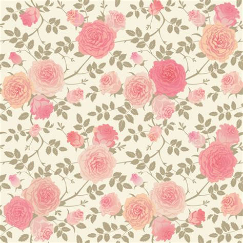 pink pattern free vector 10 free vector rose patterns freecreatives
