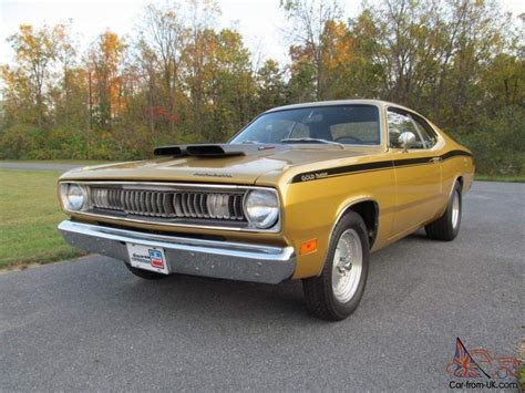 plymouth 340 duster 1971 plymouth duster 340 4spd rust free