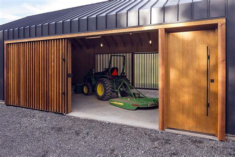 shed architectural style elk valley tractor shed fieldwork design architecture architecture lab