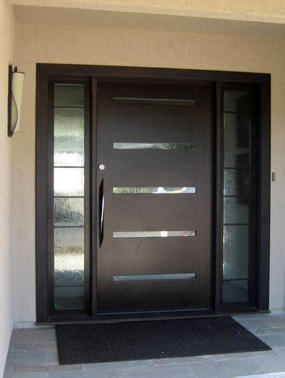 exterior modern doors grand entrances san diego s finest custom entry doors