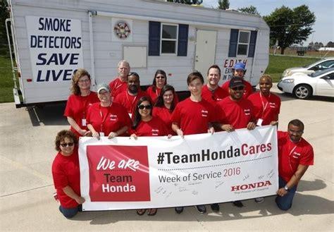 Marysville Ohio Food Pantry by Team Honda Week Of Service