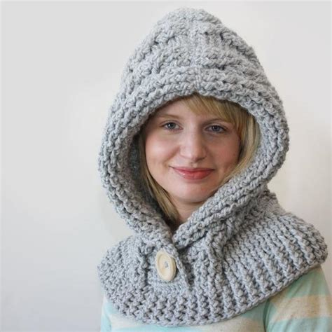 how to knit a hooded cowl 51 degrees crochet hooded cowl knitting patterns