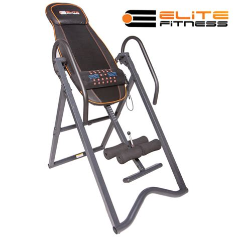 inversion table with heat and elite fitness heated inversion table model