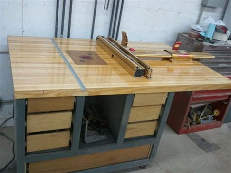 Diy Router Table Top by New Router Table Building The Fence Router Table
