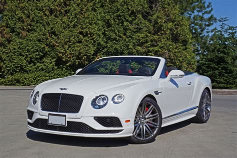 convertible bentley cost 2016 bentley continental gt convertible speed road test
