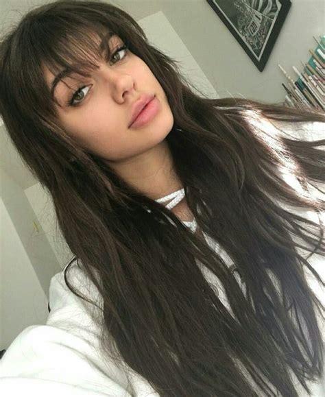 black hair fringe hairstyles best 25 fringe bangs ideas on pinterest wispy fringe
