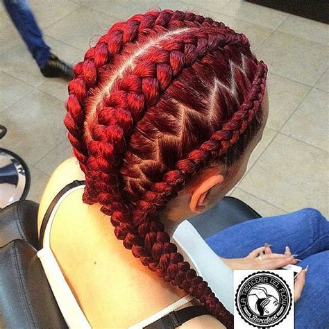red cornrow braided hair best cornrow braids to try right now hairstyles 2017