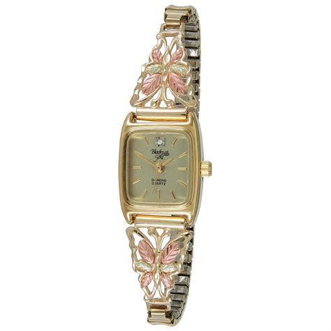 s coleman 174 black gold 10k gold butterfly