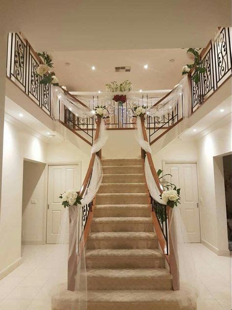 decorating home for wedding 1000 ideas about wedding staircase on wedding staircase decoration weddings and