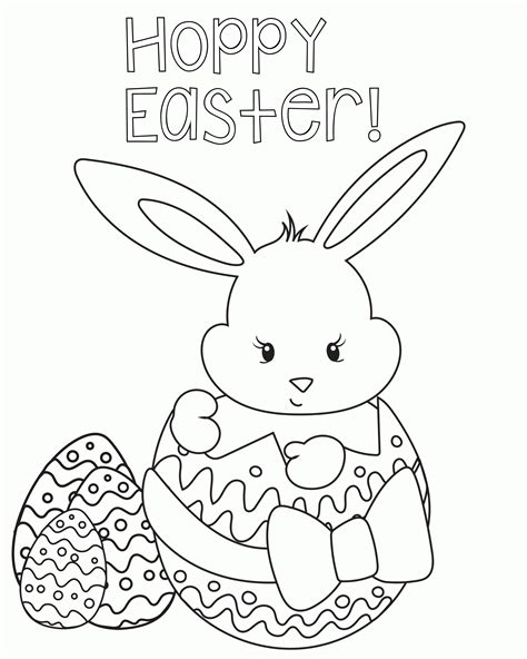 Coloring Pages Easter Pdf | easter coloring pages pdf az coloring pages