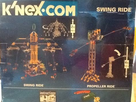 k nex swing ride knex swing ride 853 piece set for sale in drogheda louth
