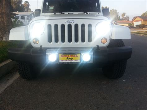 Jeep Hid Headlights Jeep Jk Wrangler Lighting Strictly Hid S 909 646 0982