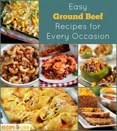 133 easy ground beef recipes recipelion com
