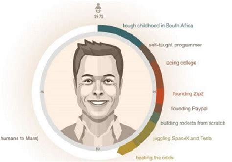 elon musk life story the fascinating life of elon musk captured in one giant