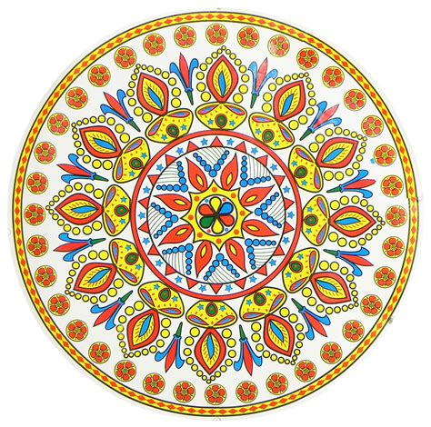 printable sticker paper india colorful sticker rangoli print on glazed paper dia 18