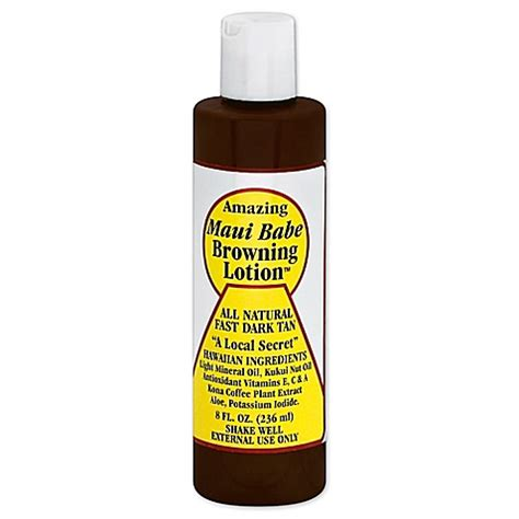 bed bath and beyond maui buy maui babe 8 oz browning lotion from bed bath beyond