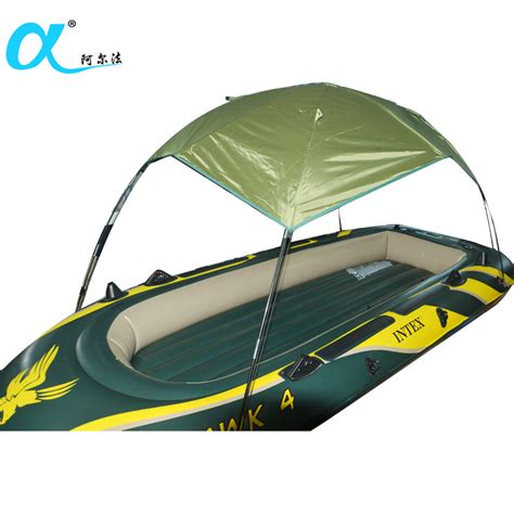 inflatable boats ebay ca matine sun shelter fishing tent inflatable boat rubber