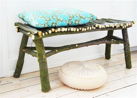 twig bench diy how to make a twig bench 1001 gardens