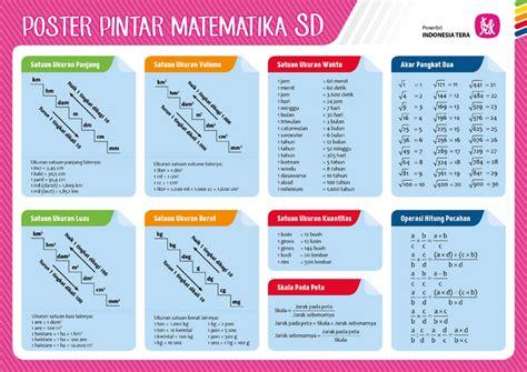 poster pintar matematika sd poster pintar matematika sd indonesia