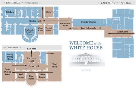 white house floor plan west wing white house tour map white house pinterest house
