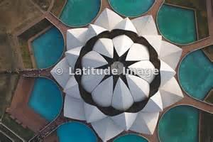 Top View Of Lotus Temple Latitude Image Delhi Lotus Temple Aerial Photo