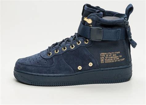 Sepatu Nike As Sf Air 1 Mid Black Hazel Hitam nike sf air 1 mid obsidian obsidian black