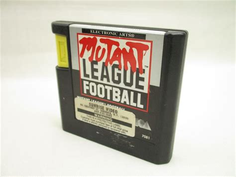 sega genesis football mutant league football sega genesis us version cartridge