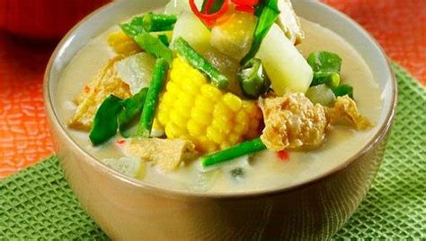membuat resep makanan khas indonesia sayur lodeh cabe