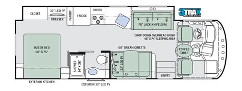thor rv floor plans 2017 thor a c e 29 3 new m36585