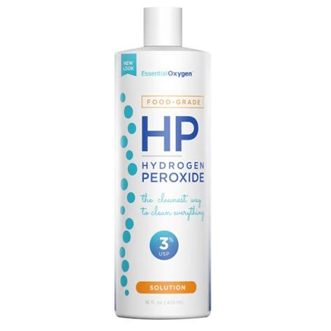 Will Hydrogen Persoxide Cause A Detox Crisis by Essential Oxygen 3 Percent Food Grade Hydrogen Peroxide