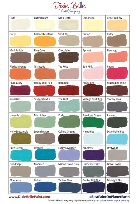 color paints everything about dixie belle paint is easy peasy except