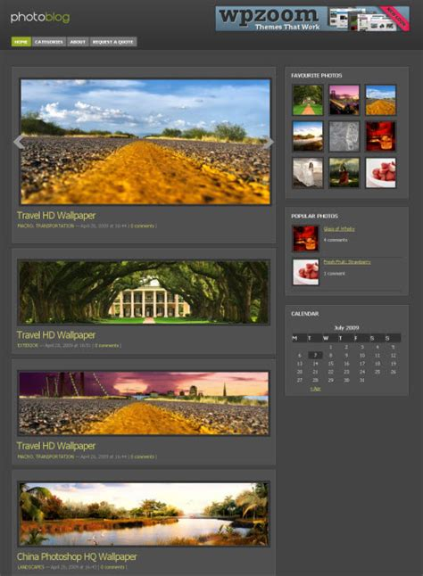 wordpress photoblog themes best photography wordpress themes for photographers dobeweb