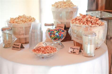 bridal shower snack food ideas bridal shower food idea popcorn bar my bridal shower happenings food ideas