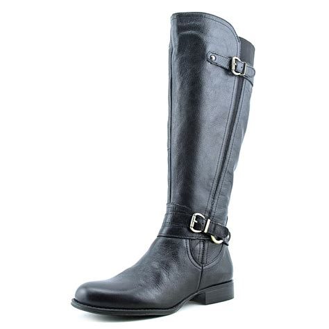 naturalizer juletta leather knee high boot w out box ebay