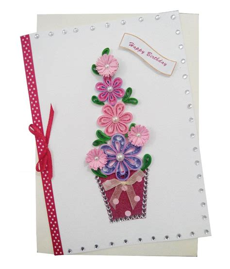 Pricing Handmade Cards - mishti creations handmade happy birthday greeting card