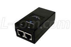 Paket Ubiquiti Bullet M5hp M5 Hp Poe Adaptor 24v 1a Original ubiquiti poe 15 15vdc 0 8a output power ethernet