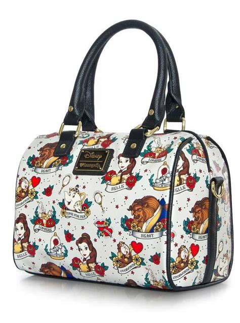 ariel flash tote handbag by loungefly quot flash print quot tote bag by loungefly x the beast beige www inkedshop