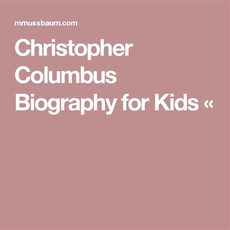 biography en ingles de christopher columbus m 225 s de 25 ideas incre 237 bles sobre christopher columbus