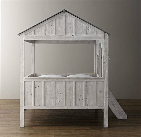 kids house bed kids cabin bed by restoration hardware