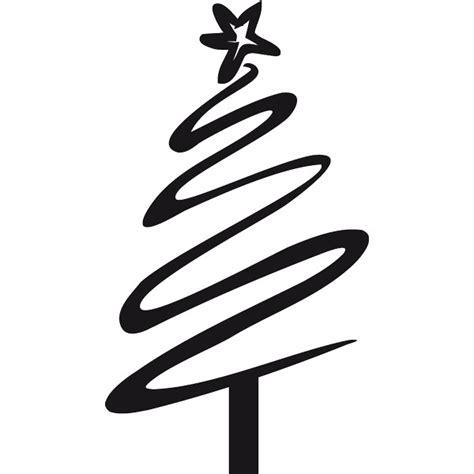 silueta arbol de navidad vinilo decorativo 193 rbol navidad