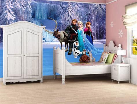 wallpaper dinding kartun frozen contoh gambar wallpaper dinding kamar tidur anak frozen