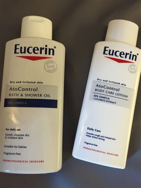 Shower Gel For Eczema Sufferers by Eucerin Atocontrol Range Review Beaut Ie