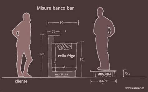 Altezza Bancone Bar by Misure Per Costruire Un Banco Bar