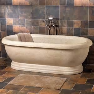 stone vessel sink chiseled