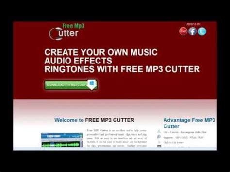 download youtube mp3 ringtone free mp3 cutter ringtone maker mp3 cutter download