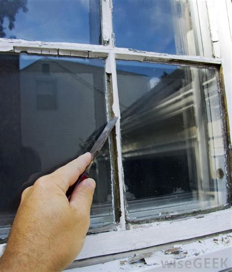 Fenster Neu Verglasen by What Is Glazing Compound With Pictures