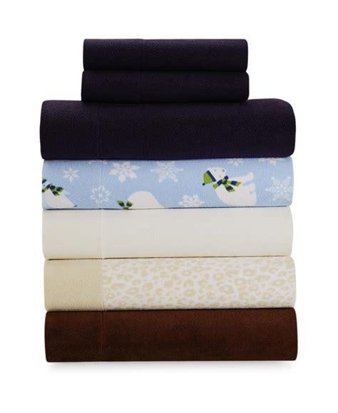 cannon four fleece bed sheet set home bed bath