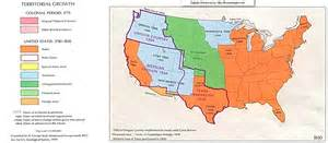 map of annexation mexican cession history territory mexican cession summary us