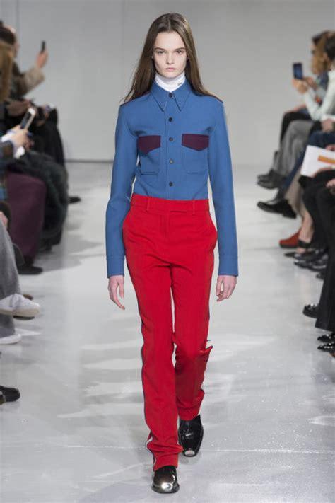 collaborative feminine couture raf simons calvin klein
